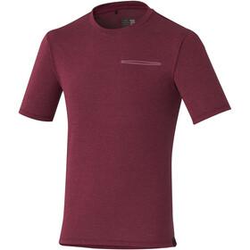 Shimano Transit T-Skjorte Herre rød